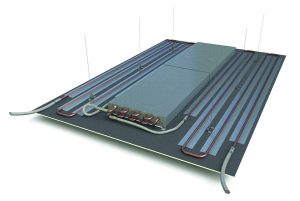 Heating Panel using Adhesive Tape